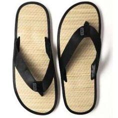 Men's beach wedding sandals.