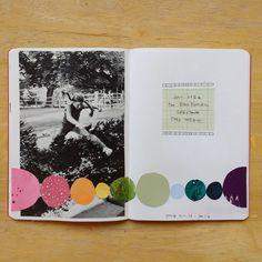 @katielicht #art #journal #collage