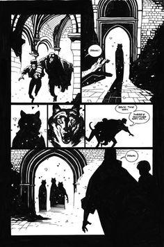 Wolves of Sct. August Comic Art