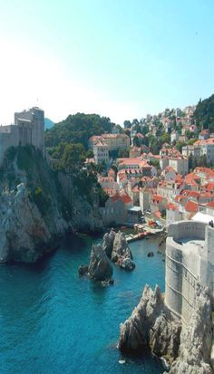 The views in Dubrovnik make this city a MUST see when in Croatia. Don't miss out!
