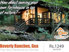 GOA - Call it the Beach Lover's Paradise, Party Capital, Hub off different Lifestyle or the meeting point of various Cultures, it always outshines the best place to live! So If you have keen interested to buy property/plots/farmhouse in Goa, visit our online property portal @ http://goo.gl/grpRh3 or contact us at +91 80 100 70070.. #onlineproperty #buyproperty #propertyinGoa #quickghar #plotsinGoa #farmhouseinGoa