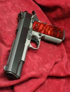Nice, sleek .45 caliber 1911 model pistol.