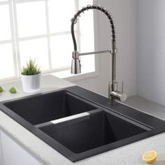 Would A Commercial Style Faucet Make Doing The Dishes Easier And More  Convenient? We Think
