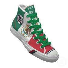 mexican flag converse