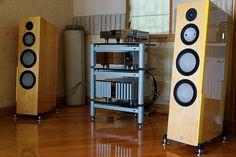 Marten speakers & Burmester setup by davcsk55, via Flickr