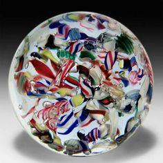 graeber paperweight | Artist: American Category: Paperweights Medium: Antique $400 Scancode ...