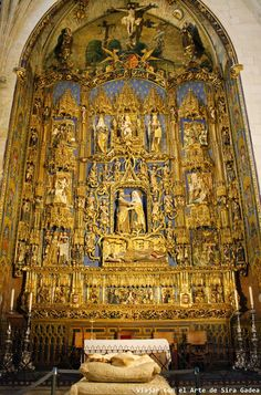 Traveling with Art: The Chapel of the Conception in the cathedral of Burgos Baroque Architecture, Hotel California, Vatican, Fresco, Spain, Museum, Iglesias, Conception, Mosaic