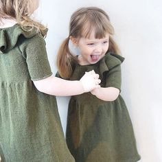 - Lili dresses - We are looking for European based test knitters for our English Lili dress patterns. We need test knitters for our #lilikjole size 1 year and our #lilikjolebody size 3 or 6 months.  We are looking for native English speakers, who are experinced knitters and who can knit the dress within 3 week.  Let us know if you are interested! Photo: @mrs_lunnay 💕 #lilidress #sisters #søskenmatch #jentestrikk #barnestrikk #knittingforolivesmerino #knittingforolive