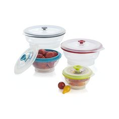 collapsible tupperware