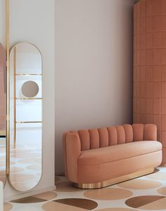 Powder pink paradise. Red Valentino boutique by India Mahdavi in Rome