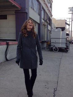 Stana Katic being adorable. She is one of the most beautiful woman, I think.