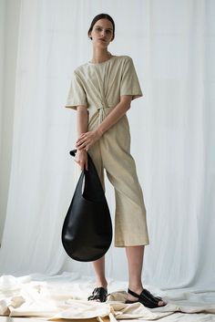 Verana Jumpsuit in Flax | Shaina Mote