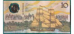 1988 Australia $10 Bicentennial Issue AA23013406 Last Prefix