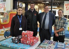 Allen Signs Wraps up a Successful Year of Fundraising - BSGA - British Sign & Graphics Association Unique Wrapping Paper, Present Wrapping, Cardboard Christmas Tree, Santa Sleigh, Very Grateful, How To Raise Money, Fundraising, Over The Years, Charity