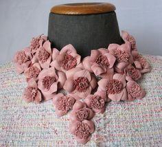 Flowers decorative elements pink. A set of 21 par ItaTomBoutique