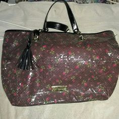 Big nwot sequined betsy bag No flaws absolutly georgeous!FINAL PRICE!!!!!!! betsy johnson Bags
