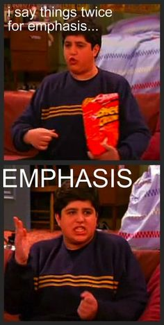 "EMPHASIS is important for… EMPHASIS: | The 28 Most Important Lessons We Learned From ""Drake And Josh"""