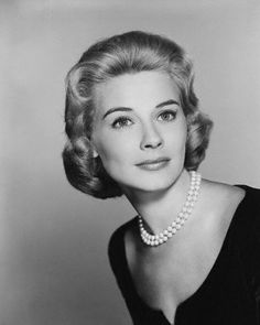 "Hope Lange - I saw her in a La Mirada, CA stage production of ""Dial M for Murder"".  Back in the 1970s she starred in the TV show ""The Ghost and Mrs. Muir""."