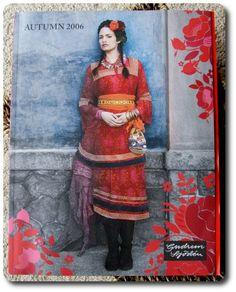 I still remember this Frida Kahlo inspired autumn collection from Gudrun Sjöden <3