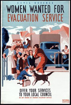 1942 Civil Defense Poster