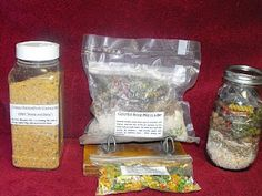 Make Your Own Soup Mixes - Instant Noodle, Tomato Soup, Potato Soup, & Dry Onion.