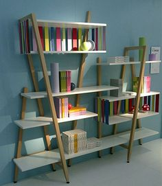 Boekenkast My roommate and I own a ton of books and I feel there is never enough shelf space. This could help!