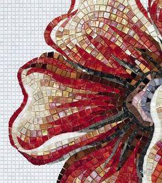 negro blanco azul Mosaico azulejos guijarro en colores 3 kieselmosaik azulejos de mosaico