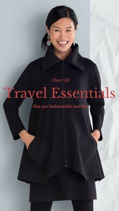 Have you clicked on one of those travel wardrobe sites only to find the clothes are frumpy and not very fashion forward? Just because we are over 50; doesn't mean we want to look like we just left t