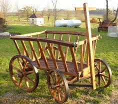 I have got to make me a goat cart...I love them.