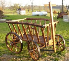 I have got to make me a goat cart...I love them.
