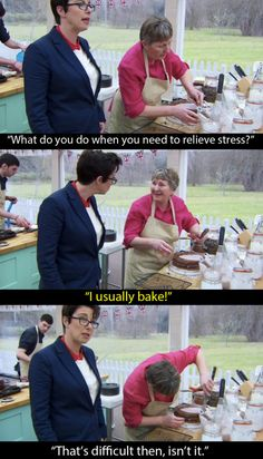 "She deserves to go all the way. | We Have To Talk About The ""Bake Off""…"