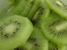 Learn to Love: Winter Fruits and Vegetables  ~~~  Kiwi:  Peeled or unpeeled, kiwis are a super healthy fruit high in vitamins C and E, potassium, and dietary fiber. The water-rich fruit will help you feel full, and one medium kiwi contains just 50 calories.     Source: Flickr User Dan4th Nicholas