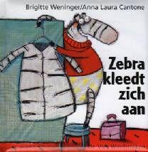 Zebra kleedt zich aan - Brigitte Weninger