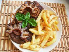 Cheesesteak, Waffles, Pork, Beef, Breakfast, Ethnic Recipes, Kale Stir Fry, Meat, Morning Coffee