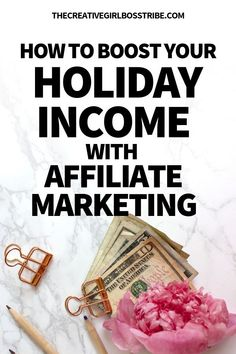 Want to make a few extra bucks for the holidays? Learn how to make extra income this holiday season with affiliate marketing. Make Money Blogging, Way To Make Money, Make Money Online, How To Make, Earning Money, Blogging Ideas, Creating Passive Income, Affiliate Marketing, Marketing Videos
