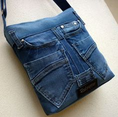 Very cute denim crossbody purses
