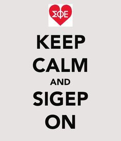 keep calm and sigep on