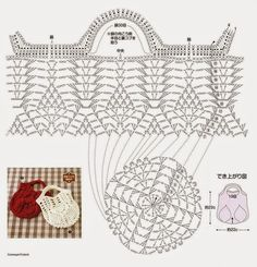 Kira scheme crochet: Scheme crochet no. 60
