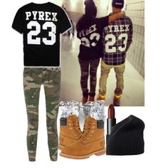 A fashion look from November 2014 featuring Pyrex t-shirts, TEXTILE Elizabeth and James jeans and Timberland boots. Browse and shop related looks.