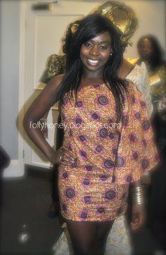 .African Wax Me Out.: ankara