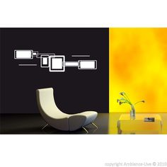 Rectangles Design - Stickers Deco Design - ambiance-live