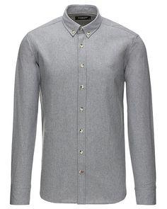 De lækreste Clean Cut langørmet skjorte Clean Cut Skjorter til Herrer i luksus kvalitet