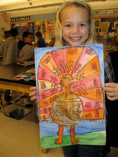 Using Fall Colors , graders created these fun turkeys! Thanksgiving Art Projects, Fall Art Projects, Classroom Art Projects, Art Classroom, Thanksgiving Preschool, School Projects, Classroom Ideas, Elementary Art Rooms, Art Lessons Elementary