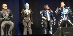 'Mass Effect' voice actors and models cosplay for charity at PAX East