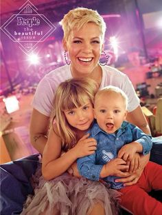 Pink's Advice for Raising Strong Kids: 'I'm a Truth-Teller' .-Pink's Advice for Raising Strong Kids: 'I'm a Truth-Teller' — People Pink's Advice for Raising Strong Kids: 'I'm a Truth-Teller' - Hairstyles For School, Pixie Hairstyles, Celebrity Hairstyles, Singer Pink Hairstyles, Short Pixie, Short Hair Cuts, Short Hair Styles, Pink Haircut, Carey Hart
