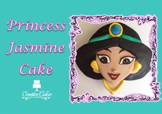 Disney Princess Jasmine Cake! See how to make her here - http://youtu.be/4BNBSJ9YQus