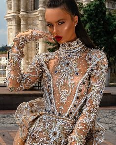 How to Dress up For a Formal Event! Embellished Gown, Prom Dresses, Wedding Dresses, Event Dresses, Bride Dresses, Fashion Gallery, Couture Dresses, The Dress, Dream Dress