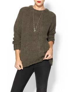 { Dallas Shaw picks : suss sweater- in lentil }