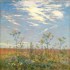 Гужавин Михаил Маркелович (1888-1931) Полевые цветы