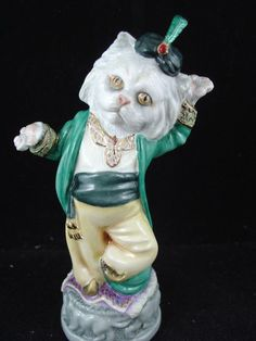 BRONTE LTD. EDITION CANDLE SNUFFER - CLOWDER OF CATS - PERSIAN